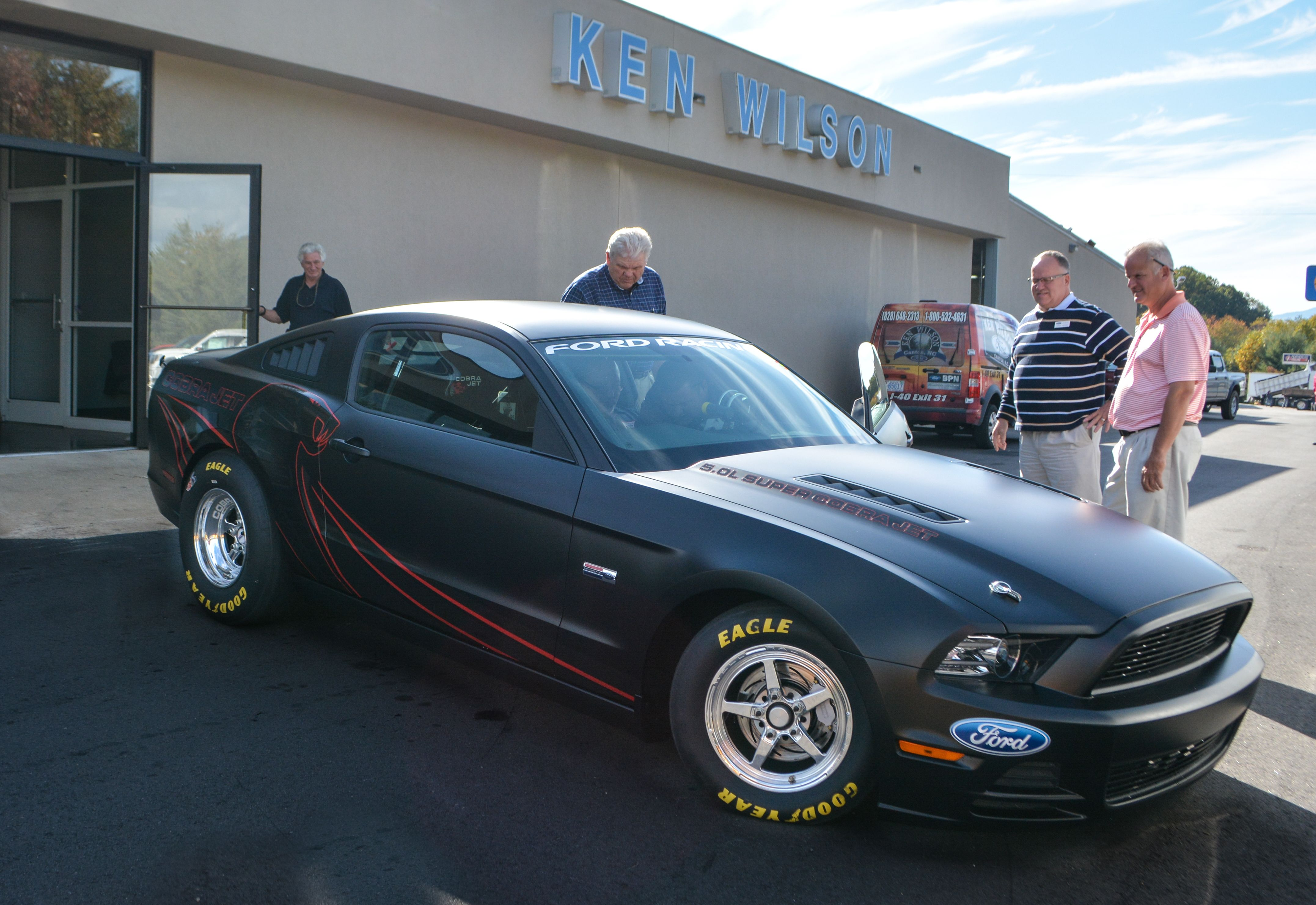 2014 Ford Mustang Cobra Jet In stock at Ken Wilson Ford Delivered