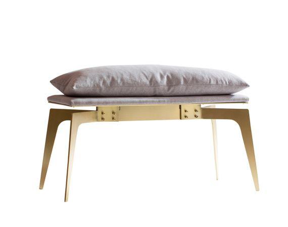 Gabriel-scott-prong-bench-brass-furniture-benches-brass-bronze
