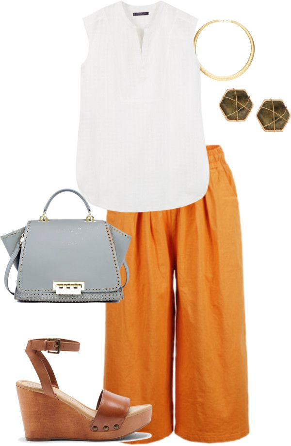 plus size summer casual work look