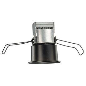 Juno Mini Led Black Integrated Remodel Recessed Light Kit Fits