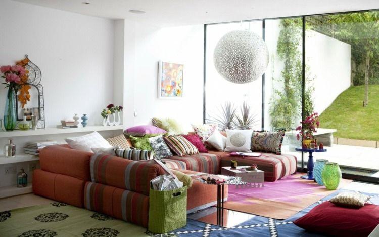 Salon décoration moderne les tendances en 75 idées Gardens - decoration de salon moderne