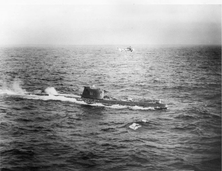 File Soviet B 59 Submarine Jpg This Day In History Oct 22 1962 Cuban Missile Crisis Http Dingeengoete Cuban Missile Crisis Naval Force American Civil War