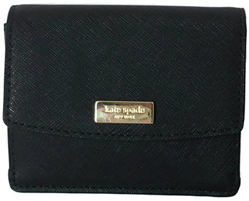 610e75dbf6782c Kate Spade Newbury Lane Petty Saffiano Leather Key Chain Wallet, Black *  You can find more details by visiting the image link.