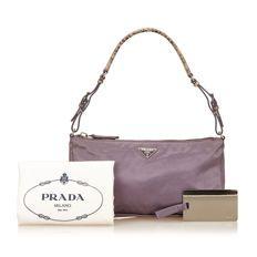 4ca30a83cf01 Prada - Satin Handbag