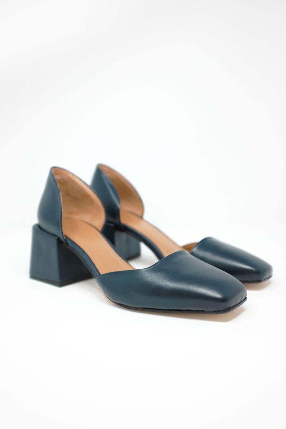 Rich's Vintage Daisy Tan Heels Size 7.5 N