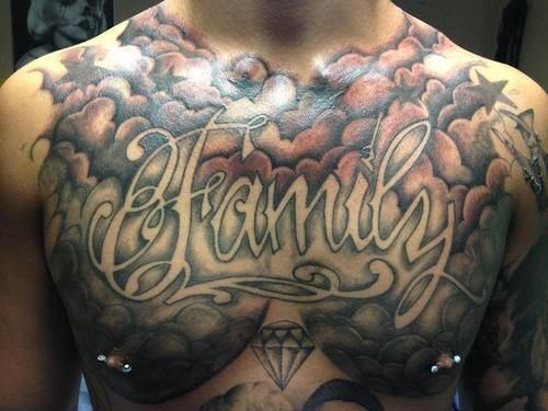 Cloud Tattoo Designs Chest Piece Cloud Tattoo Cloud Tattoo Design Chest Tattoo Men