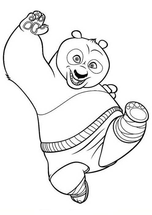 kung fu panda 34 ausmalbilder für kinder malvorlagen zum