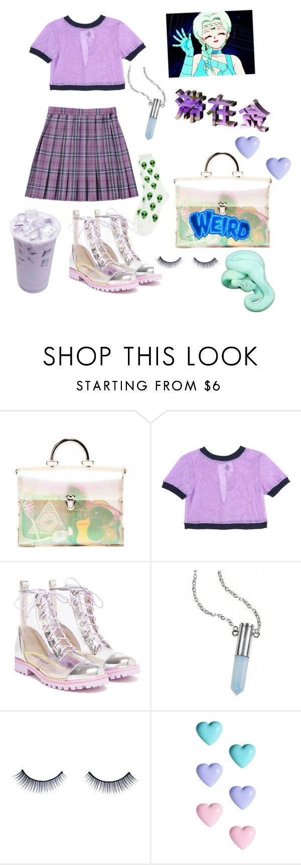 """""""Desires"""" by kawaii-senpai ❤ liked on Polyvore featuring House of Cards, Sophia Webster, Bullet, Napoleon Perdis and River Island"""