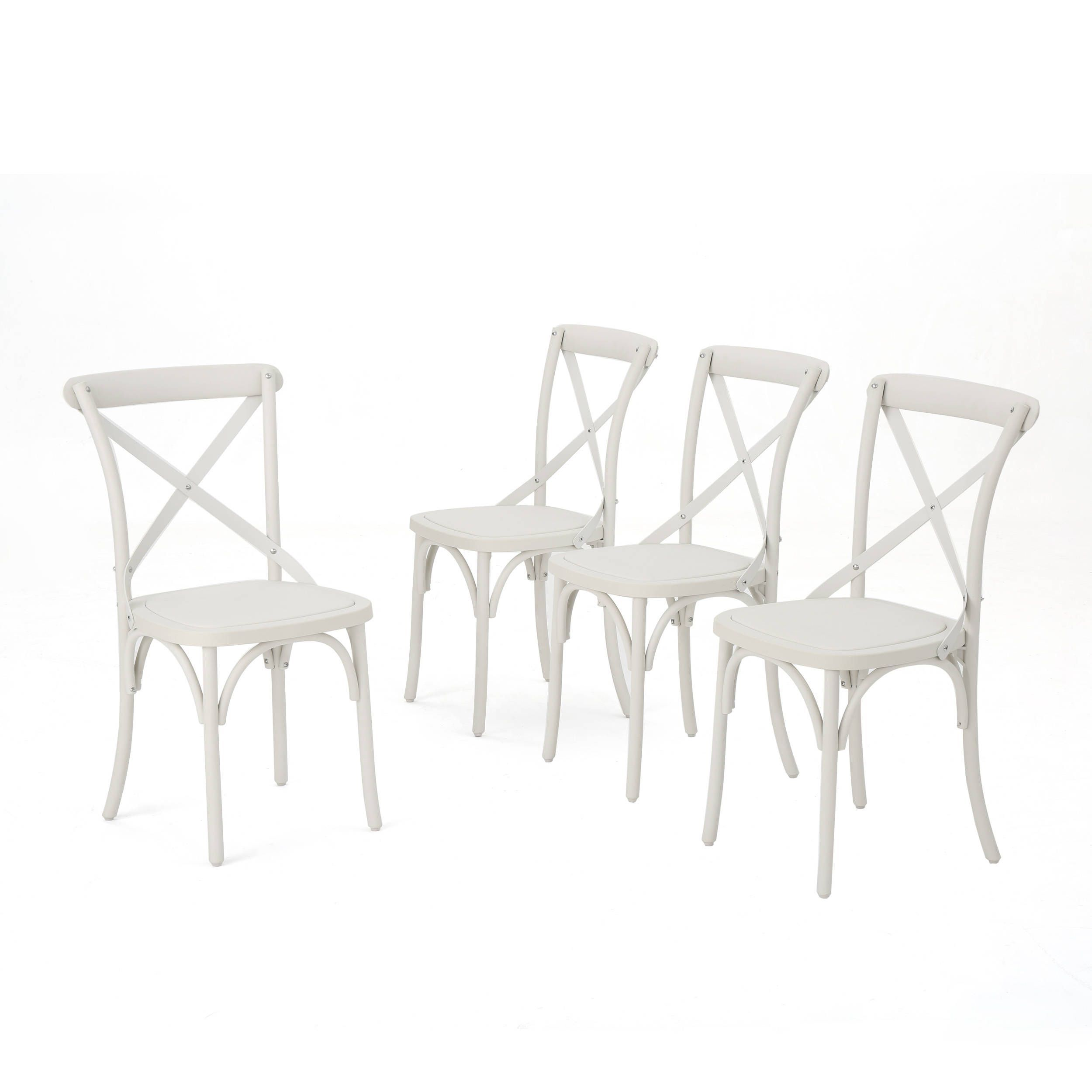 Magnificent Danish Outdoor Farmhouse Dining Chair Set Of 4 By Spiritservingveterans Wood Chair Design Ideas Spiritservingveteransorg