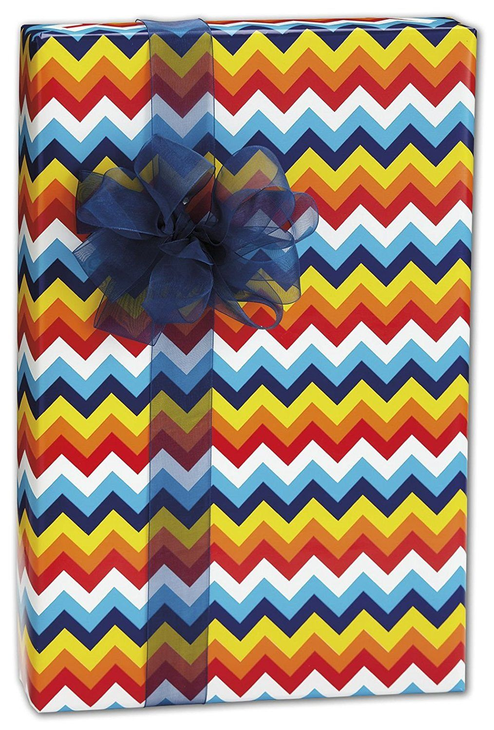 Everyday Gift Wrap - Bright Chevron Gift Wrap, 30' x 208' (1
