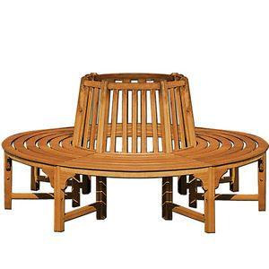 Round Tree Seat Bench Wooden Tree Seat Garden Bench 640 x 480