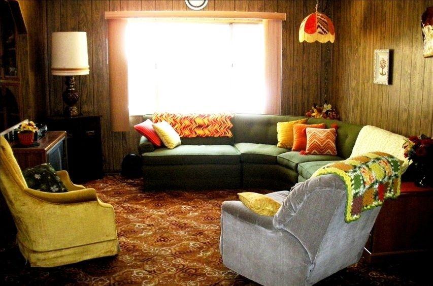 70s Living Rooms Cozy Retro 70 S Living Room Retro Living