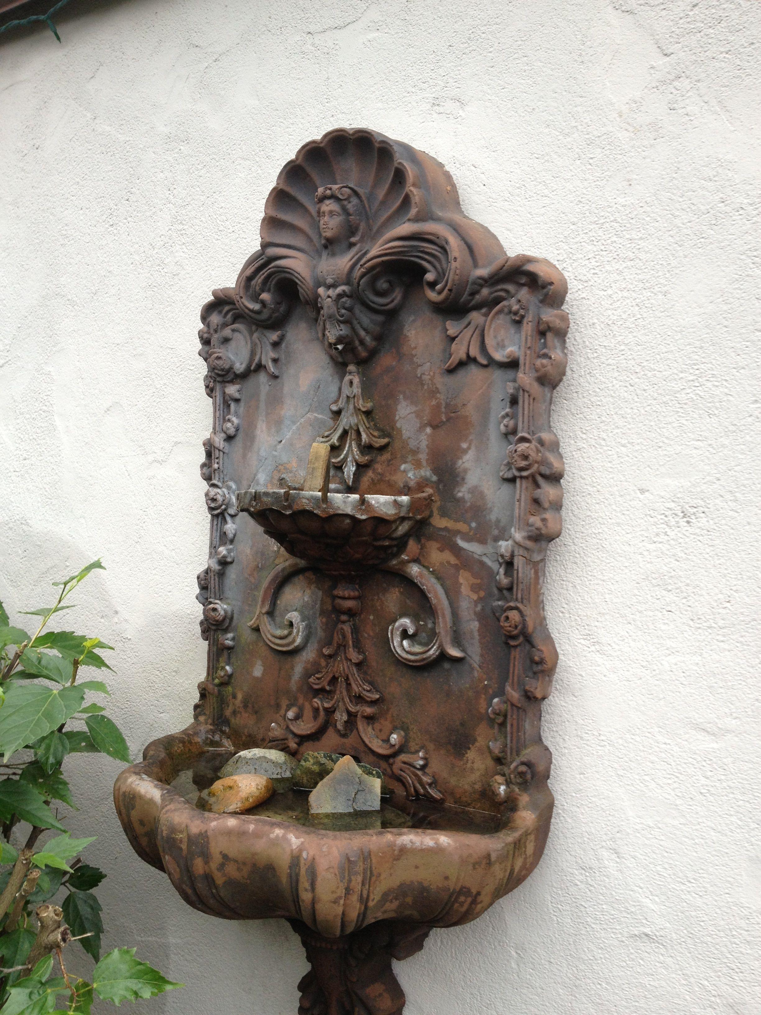 Fountain Board Has Many Water Garden Sound Ideas Wall