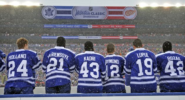 2014 Bridgestone NHL Winter Classic - Toronto Maple Leafs v Detroit Red  Wings f1b2ad9e8