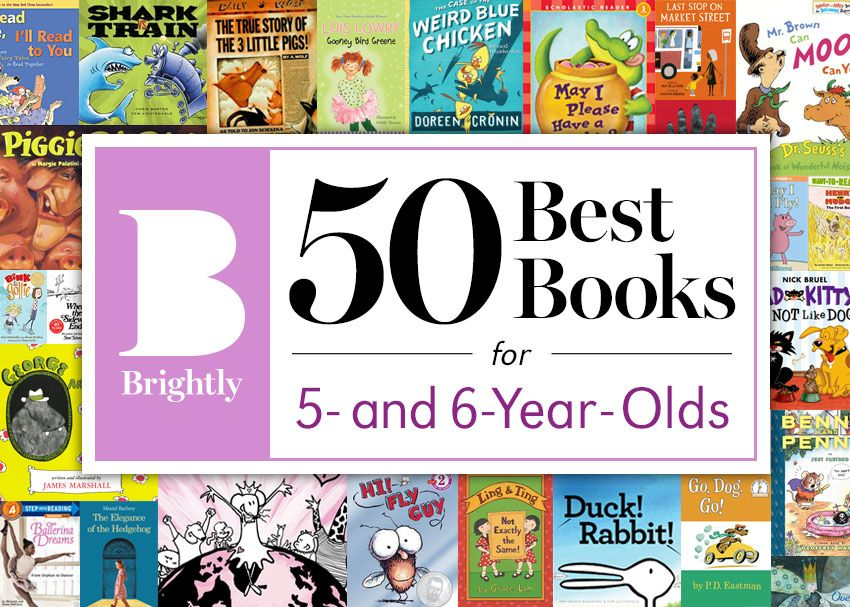 The 50 Best Books for 5- and 6-Year-Olds | Kindergarten ...