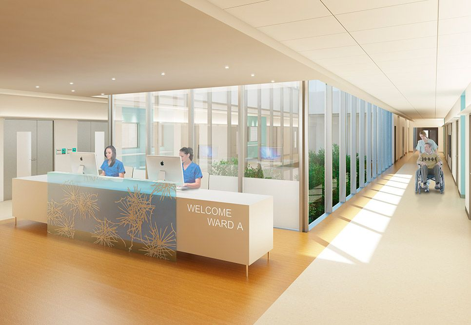 Dumfries and Galloway Acute Hospital Healthcare design
