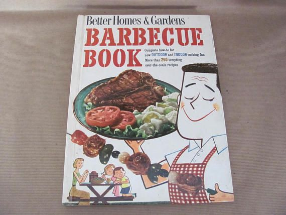 better homes and gardens cookbook. Vintage Barbecue Cookbook 1950\u0027s Better Homes And Gardens