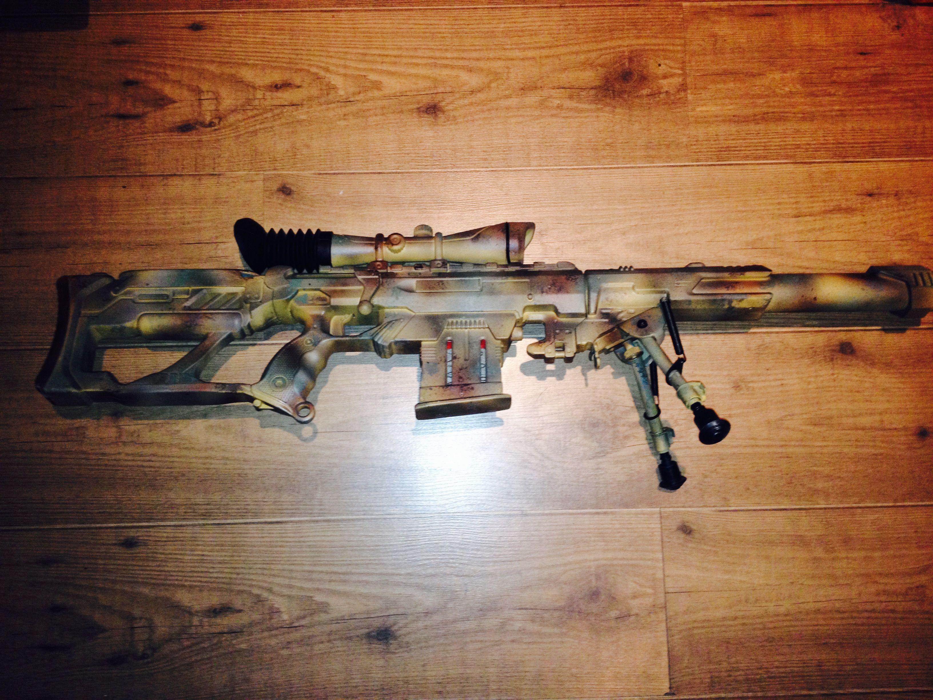 Nerf MODULUS guns with paint job camo Mods.