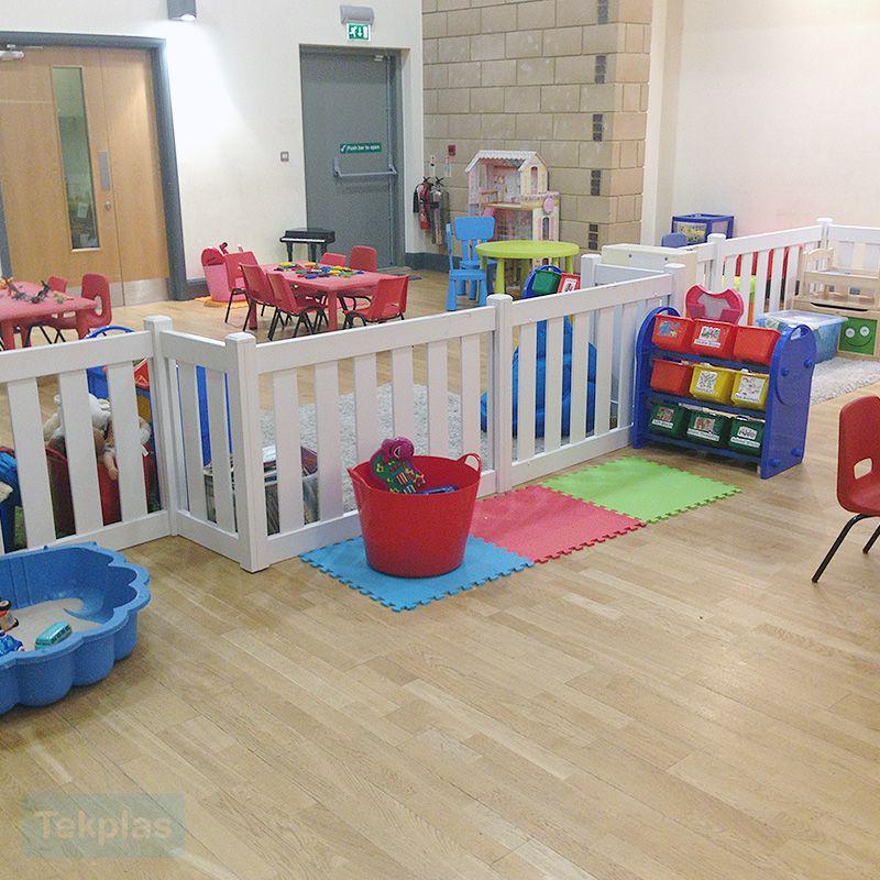 Tekplas Childrens Indoor Play Area Fencing Is A Versatile Fencing - Children's indoor play area flooring