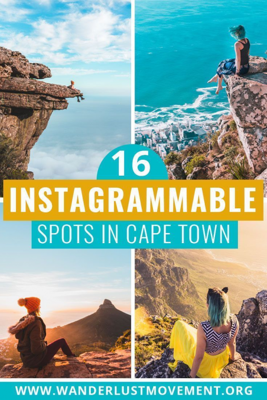 16 Most Instagrammable Places in Cape Town   Wanderlust Movement   #capetown #southafrica #travelinspiration  via @wanderlustmvmnt #southafrica #south #africa #packing #list