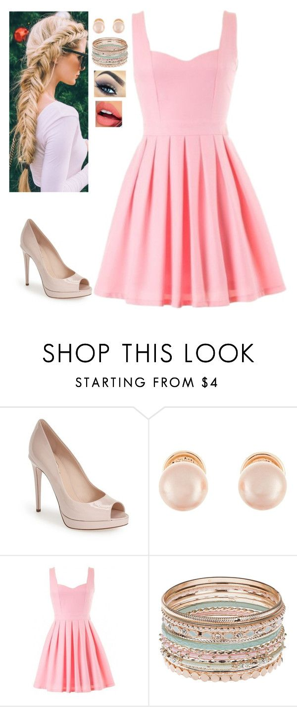 """""""Sem título #250"""" by xavier2191 ❤ liked on Polyvore featuring Fendi, Kenneth Jay Lane, Accessorize and Fiebiger"""