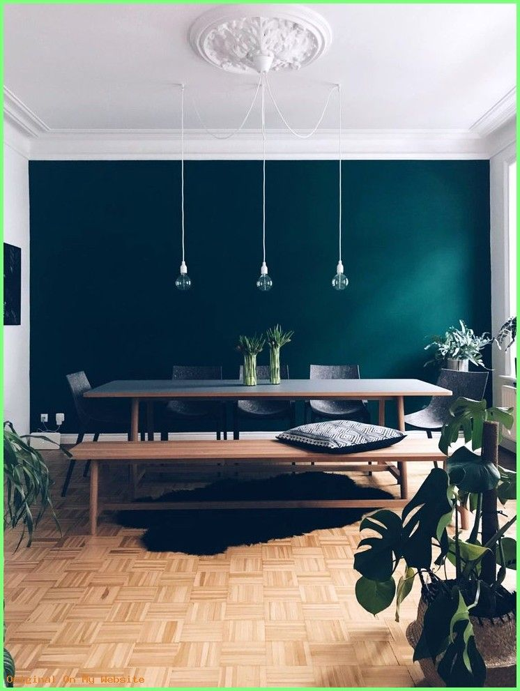 Schlafzimmer Ideen Wandgestaltung The Color Is Called Jagergrun Hunter Green By Schoner Farben Fur Kuchenwande Schoner Wohnen Farbe Haus Deko