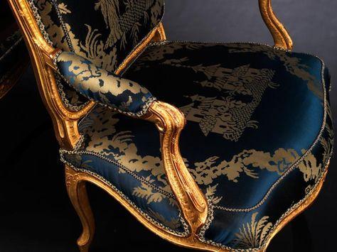 Bedeutendes Paar Louis XVFauteuils von PhilippeJosephe
