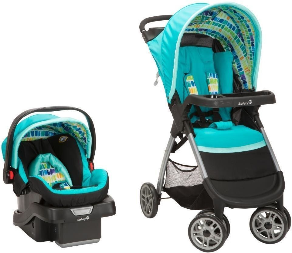 Safety 1st Amble Quad With OnBoard 30 Car Seat Travel