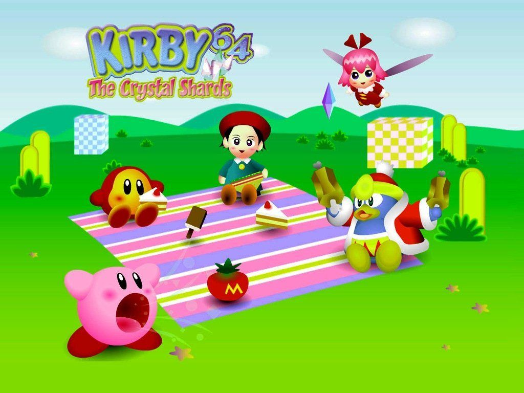Kirby 64 The Crystal Shards Kirby Nintendo KIRBY Pinterest