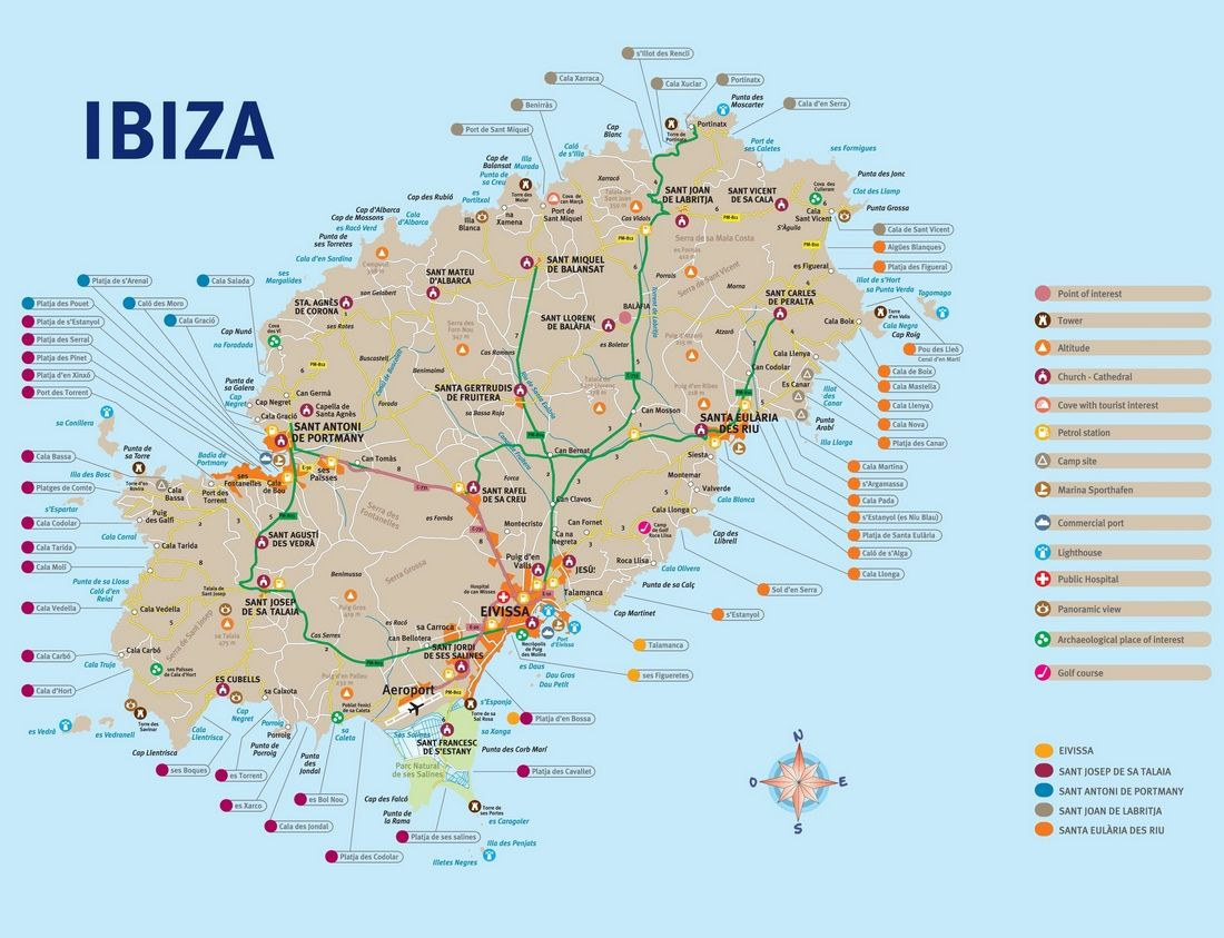 Ibiza Travel Blog The Fullest Ibiza Travel Guide Suggested Itinerary 3 Days In Ibiza For The First Timers Living Nomads Travel Tips Guides News In Ibiza