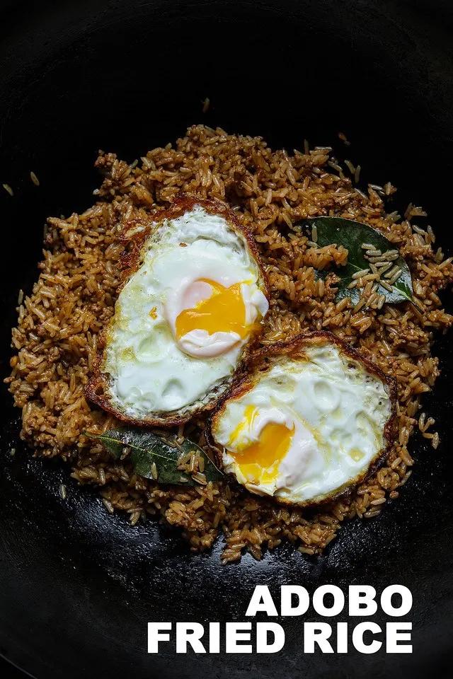 Pork Adobo Fried Rice Recipe & Video - Seonkyoung Longest