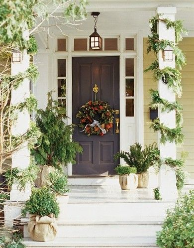 Front door Home Decor in 2018 Pinterest Christmas, Christmas