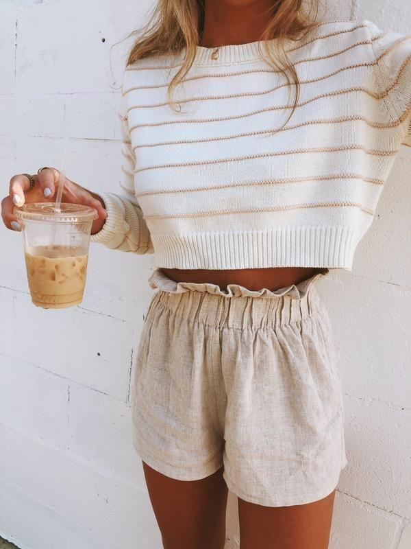 Photo of Montauk Linen Shorts