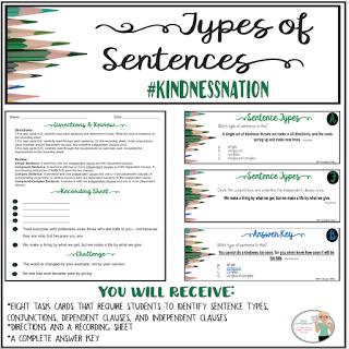 kindness sentence starters