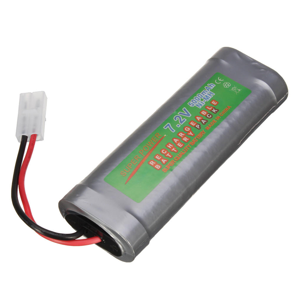 7 2v 6800mah Ni Mh Rechargeable Battery Pack For Toy Vehicle Boat Airplane Battery Pack Rechargeable Batteries Boat