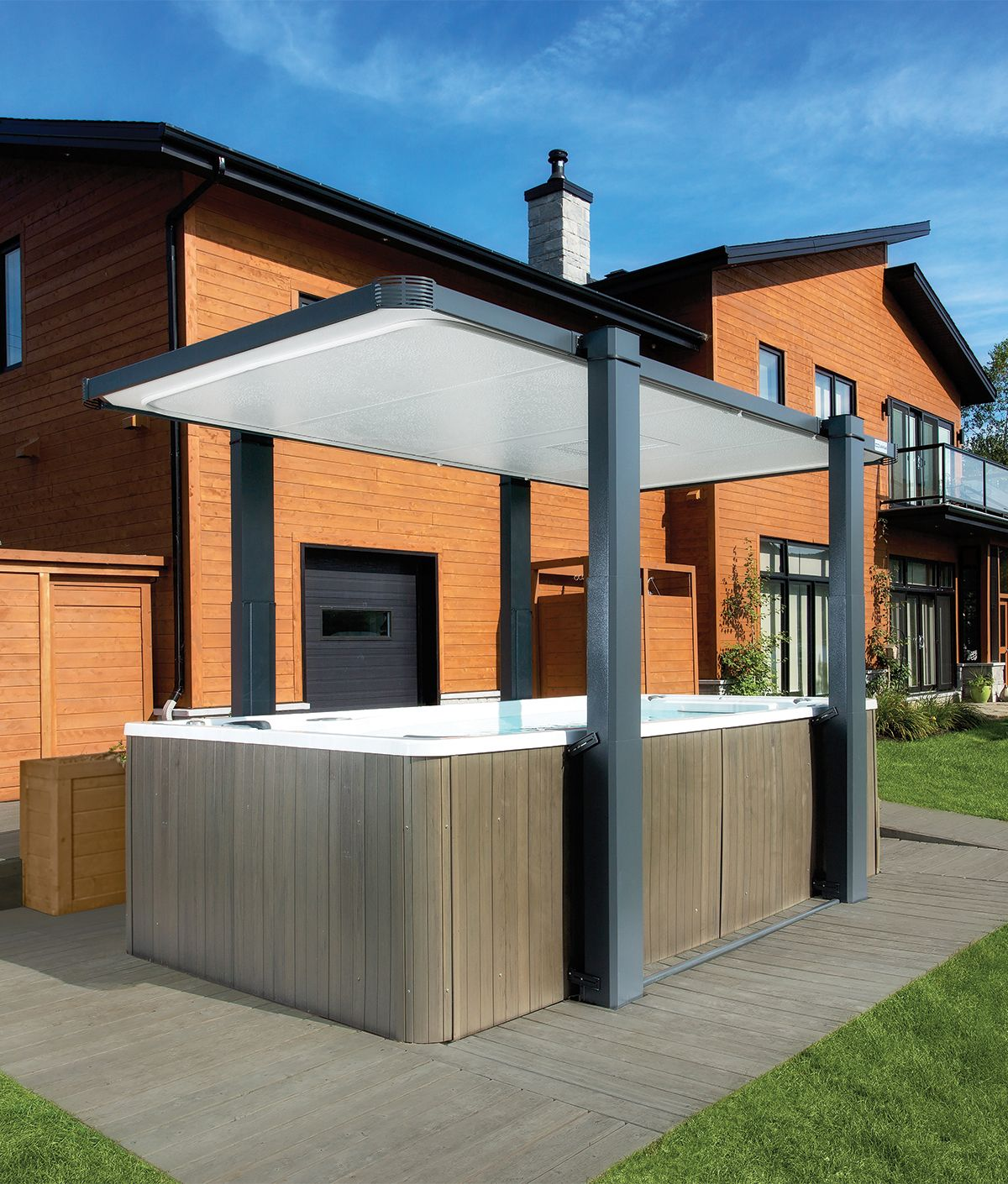 Want The Best Swim Spa Cover Out There Check Legend From Covana