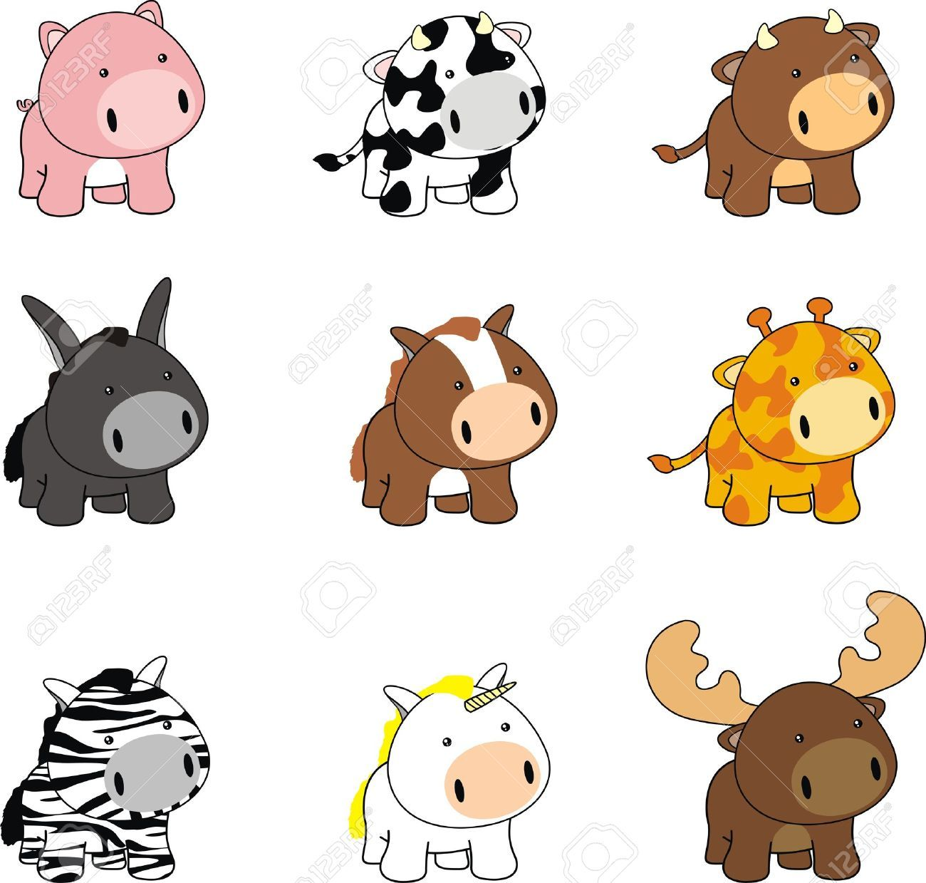 pin by jan hood on clipart cartoon baby animals baby