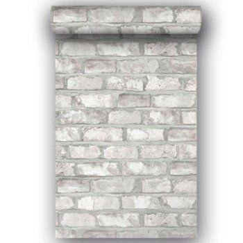 Papier Peint Intisse Brooklyn Blanc Leroy Merlin Credence