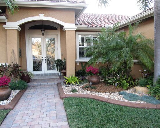 Eclectic Home Small Front Yard Landscaping Ideas Design Ideas  Pictures   Remodel  and Decor   page 5. Landscape Front Porch Design  Pictures  Remodel  Decor and Ideas