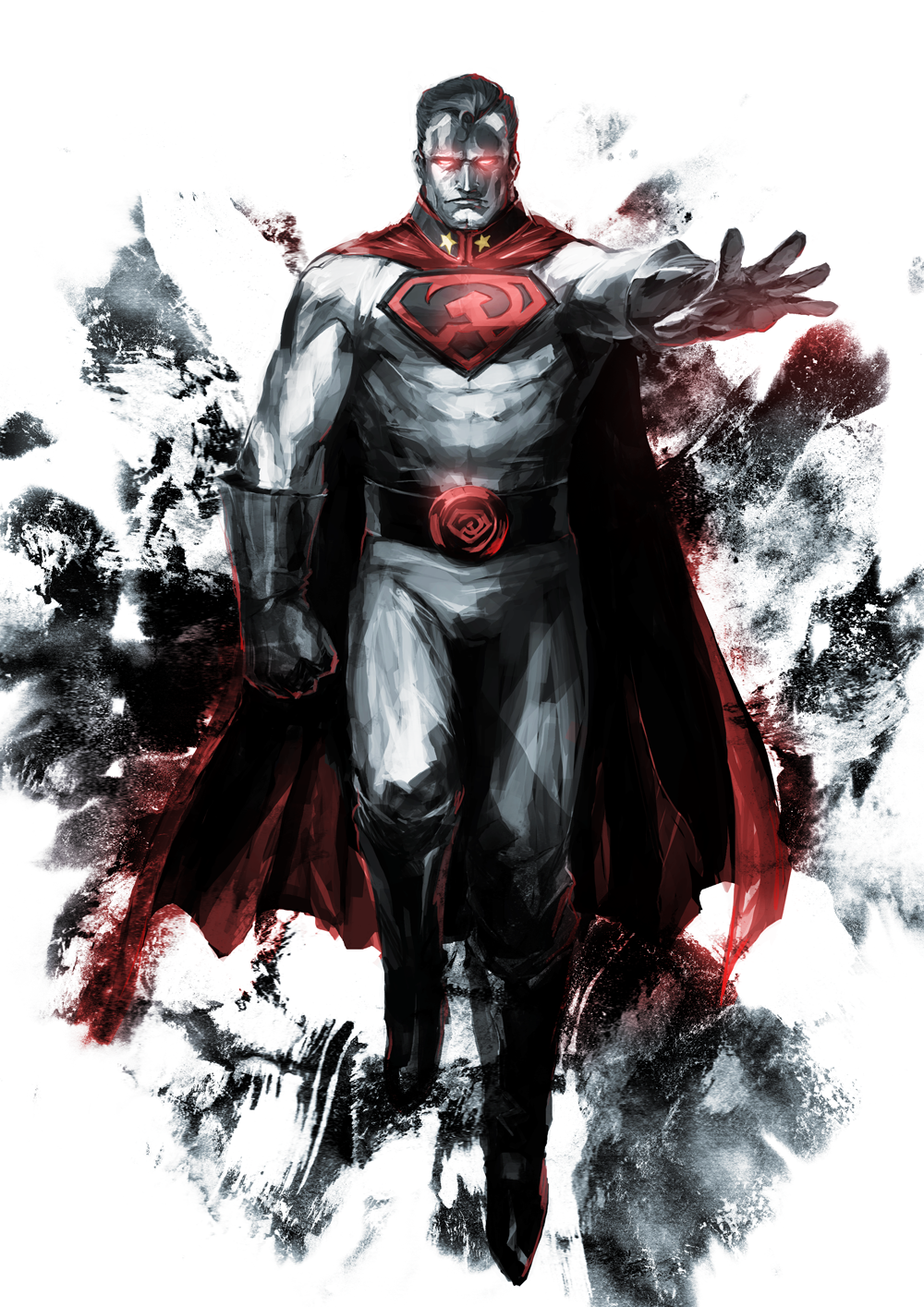 Red Son By Naratani Superman Red Son Superman Art Dc