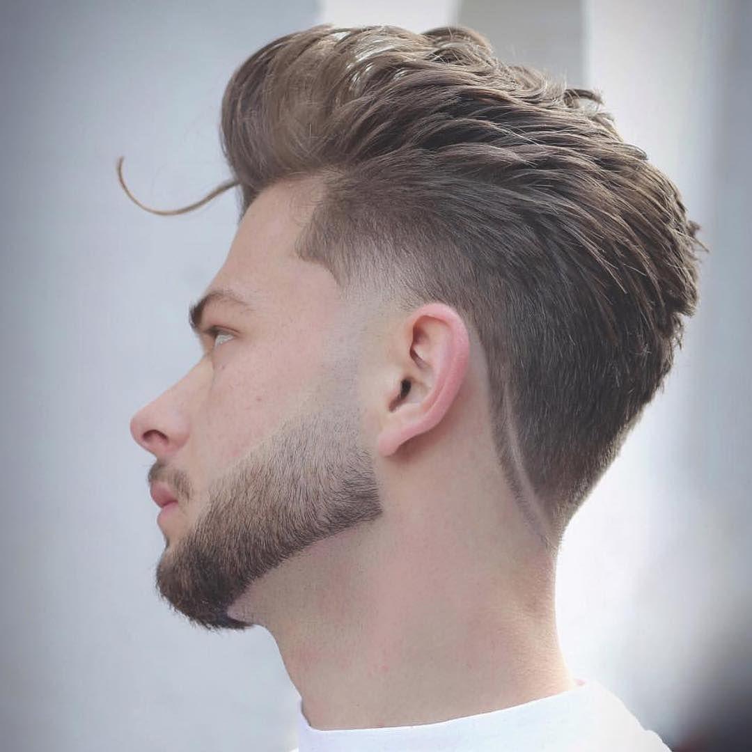 Men S Hair Haircuts Fade Haircuts Short Medium Long Buzzed Side Part Long Top Short Sides Hair Style Hairstyle Haircut Hair Color Slick Back Men