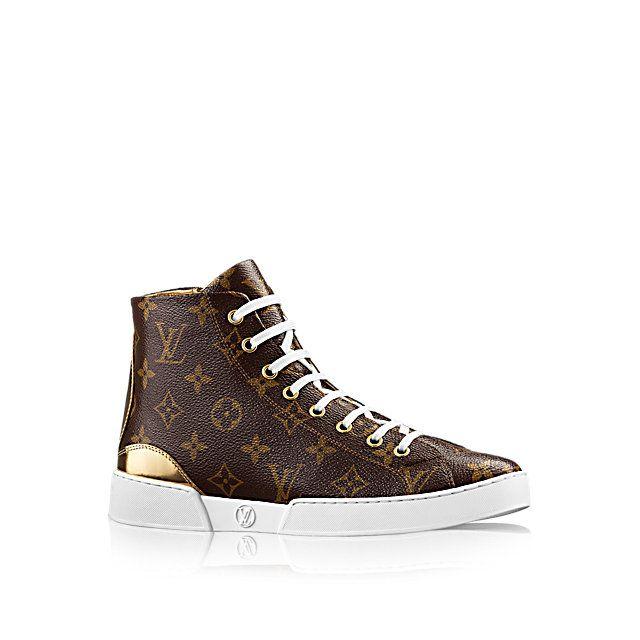 00e8f799e427 Sneaker Montant Stellar Femme Souliers   LOUIS VUITTON   Sneakers ...