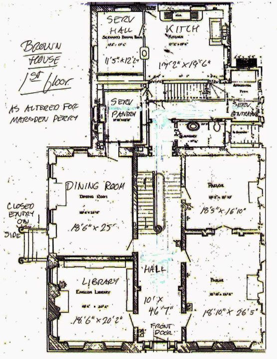 Big Old Houses Power Benefit New York Social Diary Architectural Floor Plans House Floor Plans Old Houses
