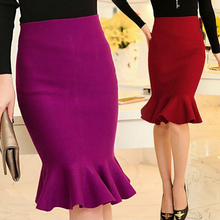 d41dc94a25954 Womens Fashion · 752bf65812e1cbdddd4046ab91b12c54.jpg (736×736) Fishtail  Skirt