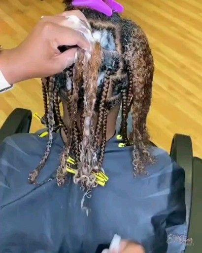 This is satisying to watch -   12 hair Natural braids ideas