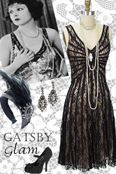 611c5eced56579 More 1920s Inspired Gatsby Glamour at Blue Velvet Vintage ...