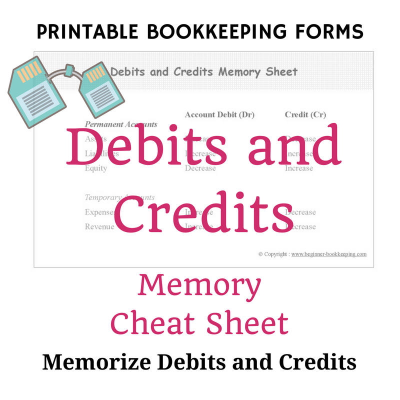 Free Bookkeeping Forms And Accounting Templates With Images