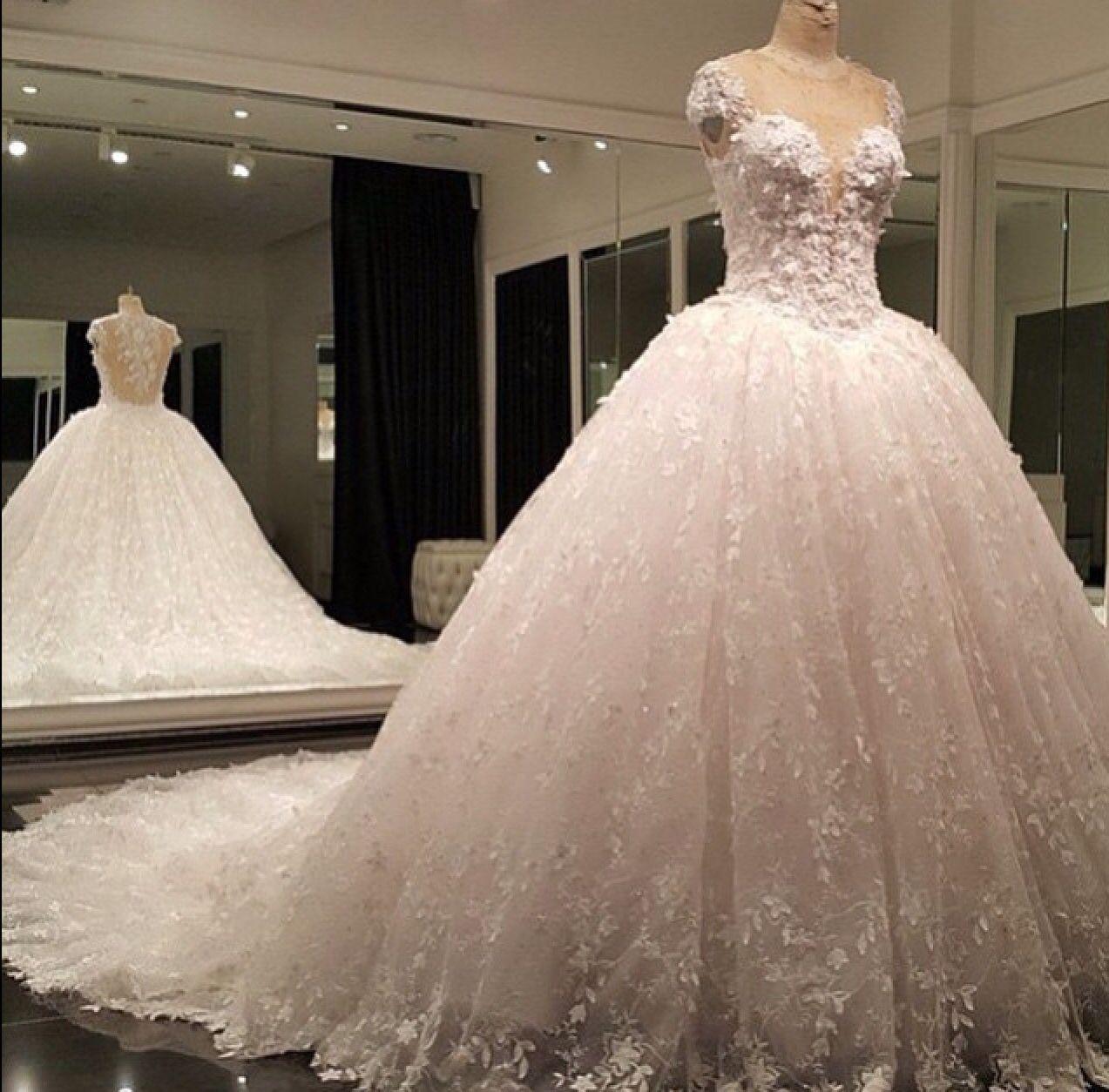 Imagenes de vestidos de novia super esponjados