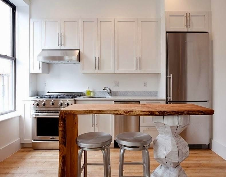 cocinas pequeñas en pequeños espacios | decoracion y armonia ...