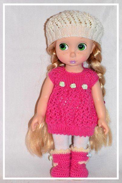 Doll Clothes / Disney Animator Doll Rapunzel / Crochet | Disney ...